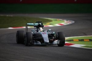 Lewis Hamilton during practice
