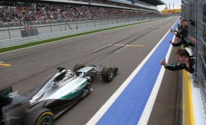 Lewis Hamilton won the Russian Grand Prix by over 12 seconds