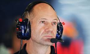 Adrian Newey, a boffin who designs cutting edge chassis for the Red Bull team